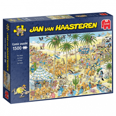 Jan van Haasteren – The Oasis 1500 bitar